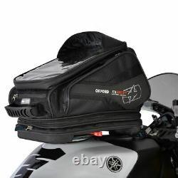 Oxford Quick Release Q30R Motorcycle Tank Bag Motorbike Tankbag 30L Black New