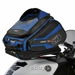 Oxford Quick Release Q30R Motorcycle Tank Bag Motorbike Tankbag 30L Blue New