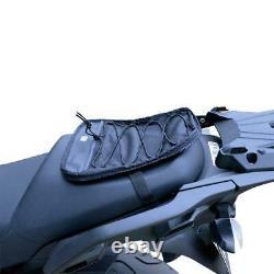 Oxford S20R Black Adventure Bike Strap-On Motorcycle Luggage Tank Bag