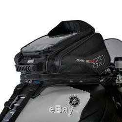 Oxford S30R 30 Liter Strap-On Motorcycle Tank Bag Luggage Black OL345
