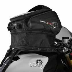 Oxford S30R Lifetime Luggage Series 30 Litre Motorcycle Strap On Black Tank Bag