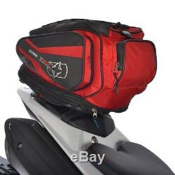 Oxford T30R 30 Liter Motorcycle Luggage Tail Pack and Backpack Red OL336