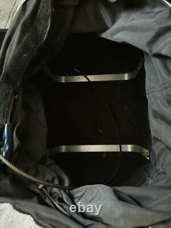 PacSafe Tailsafe Exomesh Black Anti-Theft Motorcycle Bag