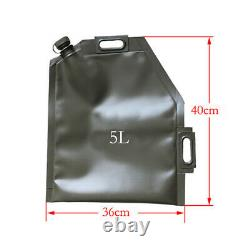 Portable 5L 10L 20L 30L Folding Oil Bag Spare Gas Fuel Tank Jerry Car Motorcycle