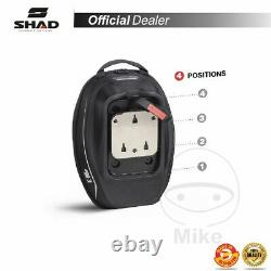 SHAD X0SE16P Tank Bag 11-15 L E-16P Motorcycle Compatible With Pin System