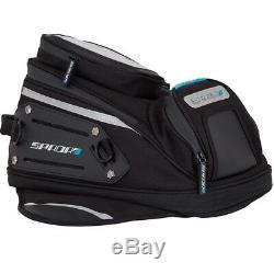 SPADA LUGGAGE EXPANDABLE MAGNETIC MOTORCYCLE TANK BAG 10L/14L inc WP COVER