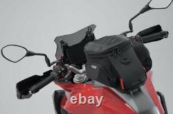 SW Motech City Pro Motorcycle Tank Bag & Tank Ring for Suzuki V-Strom 650 / XT