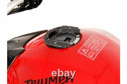 SW Motech Micro EVO Motorcycle Tank Bag & Tank Ring for Triumph Street Triple RS