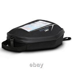 Shad E04P Pin System Tank Bag 3L Quick Fitting Semi-Rigid Motorbike Bike Tankbag