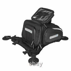 Spada Luggage Motorcycle Motorbike Midi Cargo LOK Tank Tail Bag Black 8 Litre