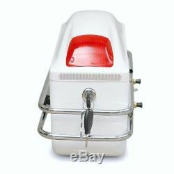 Tank Bag Motorcycle Luggage Case Universal Side Boxes Hard Saddle Bags Cruiser