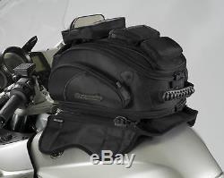 Tourmaster Elite Tri-Bag Motorcycle Sport Bike Tank Bag Magnetic Mount