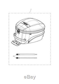 Triumph Motorcycles 15-20L Capacity Tank Bag A9510248