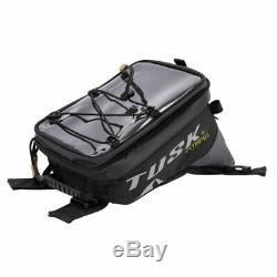 Tusk Olympus Motorcycle Tank Bag (LARGE) Storage Bag MX Enduro Dual Sport