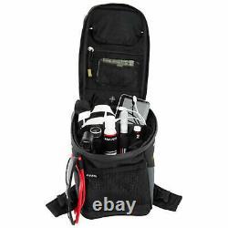 Tusk Olympus Motorcycle Tank Bag Large Black/Grey 8 litre