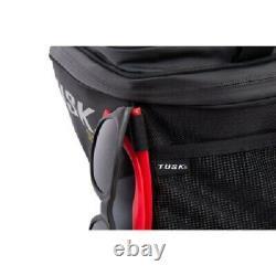 Tusk Olympus Tank Bag Black/Grey Large Motorcycle Dual Sport Enduro Adventure