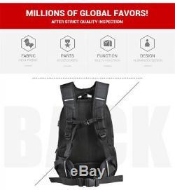 Universal Motorcycle Backpack Tank Case Carbon Fiber Color Helmet Bag Waterproof