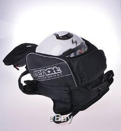 Universal Motorcycle Fuel Tank Bag Helmet Navigator Phone Holder Bag Backpack