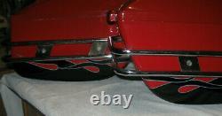 Universal Motorcycle Tail Bags Luggage Tank Tool Bag Hard Case Saddle Bags