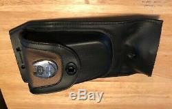Used Harley Davidson 105th Anniversary Leather Tank Pouch Bag 105 Panel