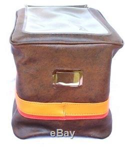 Vintage 1980's Retro Fuel Tank Bag Motorcycle Bag Driving NOS