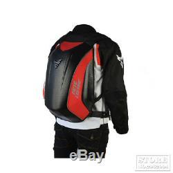 Waterproof Backpack Black Motorcycle Men Bag Touring Luggage Magnetic Tank Bags