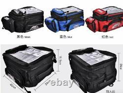 Waterproof Magnetic Motorcycle Oil Fuel Tank Bag Helmet Shoulder Waist Bagpack