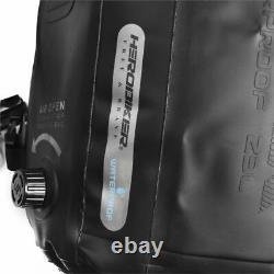 Waterproof Motorbike Backpack Motorcycle Bag Luggage Moto Tank Bag Racing Black