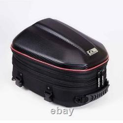 Waterproof Motorcycle Rear Tail Seat Bag Saddle Helmet Shoulder Tank Bag
