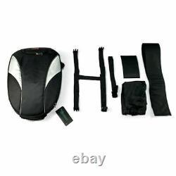Waterproof Motorcycle Tail Bag Fuel Tank Bag Rider Backpack Helmet Luggage Pack