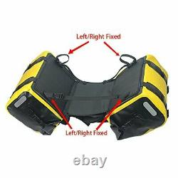 Waterproof Motorcycle saddlebag 50L Tank bag Motor Side bag