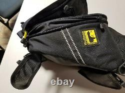 Wolfman Explorer Lite Motorcycle Tank Bag with Rain Cover