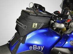 Wolfman Luggage Blackhawk Tank Bag (2017 Model) Motorcycle BMW, KTM, Suzuki, KLR