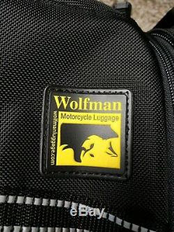 Wolfman M218 Explorer Lite Tank Bag Motorcycle Luggage