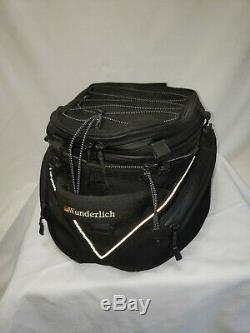 Wunderlich Elephant BLACK Motorcycle Fuel Tank Bag MANUFACTURED BY BMW