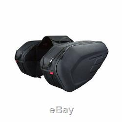 1 Paire 36-58l Moto Selle Sac Étanche Casque Sacoches Withrain Cover
