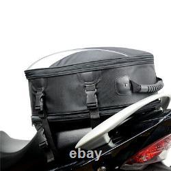 1multi-fonction Moto Dirt Bike Tail Bag Fuel Tank Storage Rider Sac À Dos