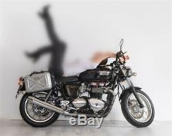 1pair 30l Motorcycle Side Case Bagages Cargo Réservoir Arrière Boîte Sac Étanche Selle