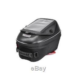 23l Boucle Noir Sac De Moto De Sortie Du Réservoir De Carburant Hard Shell Épaule Sac À Dos