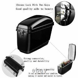 30l Moto Side Box Bagage Tank Hard Case Sac À Selle Panniers Universal