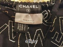 4120 $ Chanel 2005 Alphabet Top 40 42 44 8 10 12 Robe Chemise Cardigan Sac Chemisier