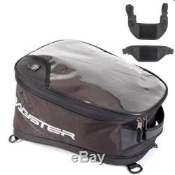 Bagster Holster Sacoche De Réservoir Moto Extensible Et Kit Pour Housse De Réservoir Bagster