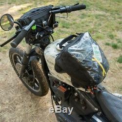 Biltwell 3002-01 Exfil-11 Sac De Réservoir Noir / Orange Pour Les Bagages De Moto
