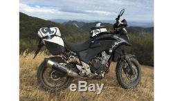 Boucle Géante Diablo Sacoche De Réservoir Pro Moto Off Road Dual Sport Aventure Touring