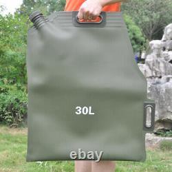 Car Portable 20l Sac De Moto Soft Oil Cans Carburant Carburant De Rechange Essence Can