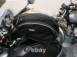 Chicane Canyongs Expandable Moto Sac De Réservoir Réfléchissant Noir Bmw R1200gs