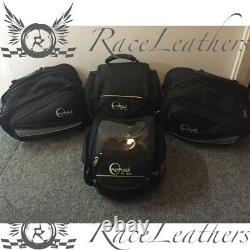 Clearance Sale Nomad Black Motorcycle Luggage Tank Bag Tail Pack Panniers Set
