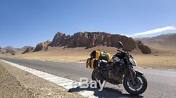 Coeur Sac Étanche Wild Motorcycle 50l Sacoche De Réservoir Sac Côté Moteur Noir