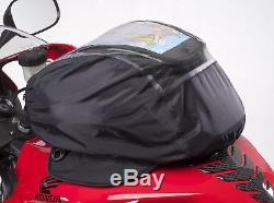 Cortech Super 2.0 12 Litres Moto Sportbike Sacoche De Réservoir Magnetic Mount