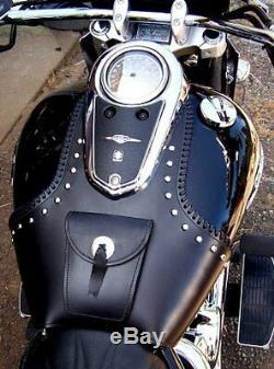 Cuir Moto Garde Grand Réservoir